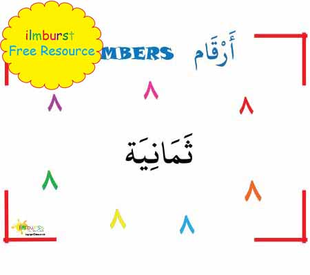 Arabic Numbers – 8