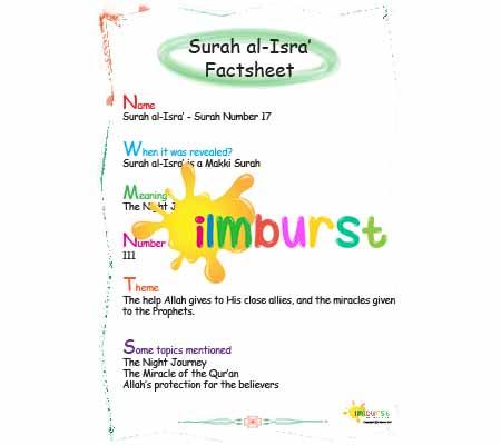 Surah al-Isra' – Factsheet