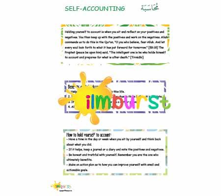 Self Accounting (Muhasabah) Infosheet Higher Level