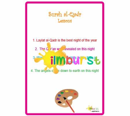 Surah al-Qadr - Lessons - ilmburst