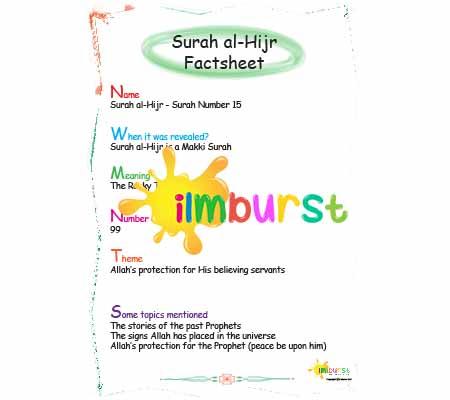 Surah al-Hijr – Factsheet