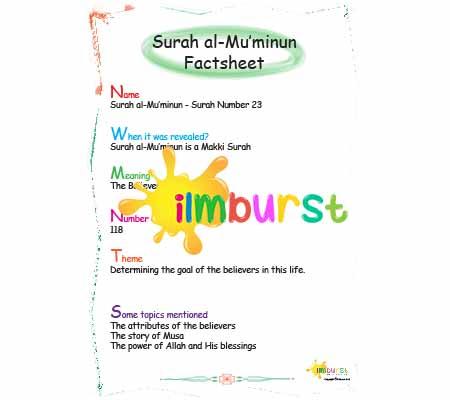 Surah al-Mu'minun – Factsheet