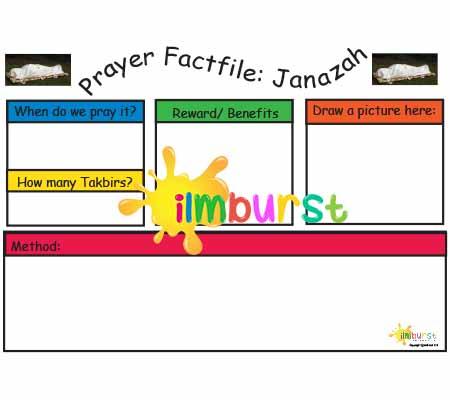 Prayer Factfile: Janazah Prayer (Blank)
