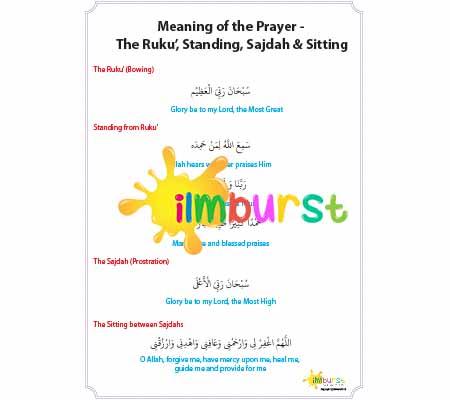 Meaning of Prayer – Ruku', Standing, Sajdah & Sitting