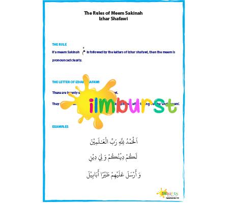Meem Sakinah – Izhar