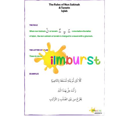 Nun Sakinah & Tanwin – Iqlab