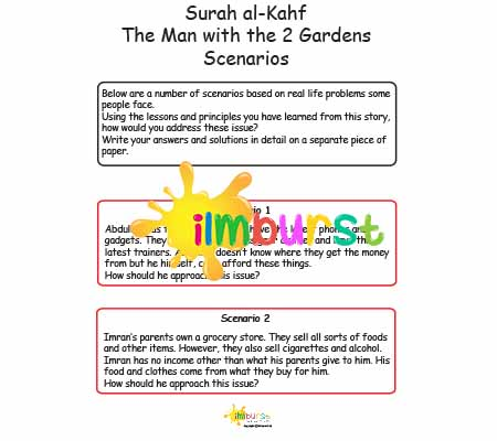 Surah al-Kahf – Man with the 2 Gardens – Scenarios