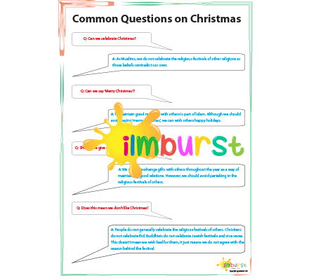 Your Christmas Questions