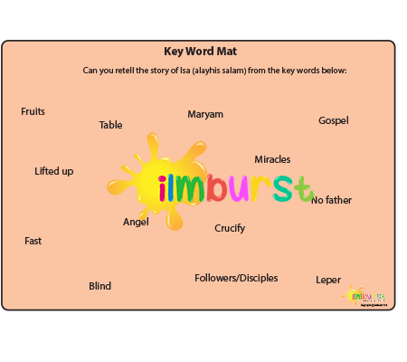 Key Word Mat – The Story of Isa (Jesus)