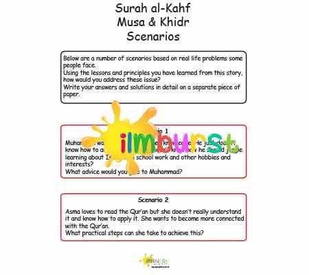 Surah al-Kahf – Musa & Khidr – Scenarios